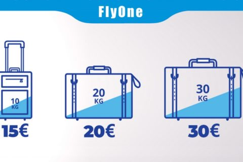 FlyOne багаж