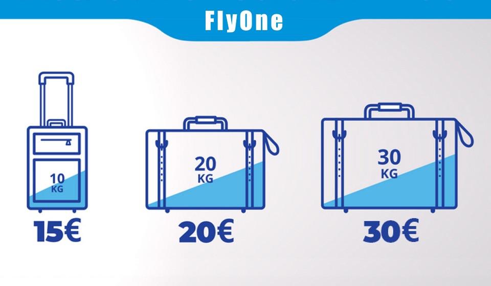 FlyOne обновил правила перевозки ручной клади и багажа