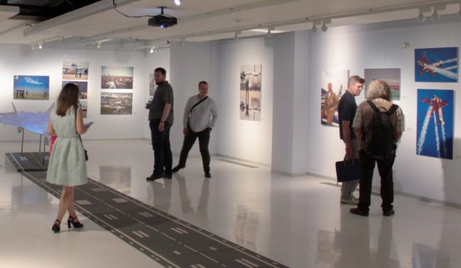 Выставочный зал Звезды МАКС