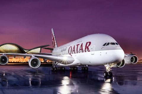 Скидка 40% на авиабилеты Qatar