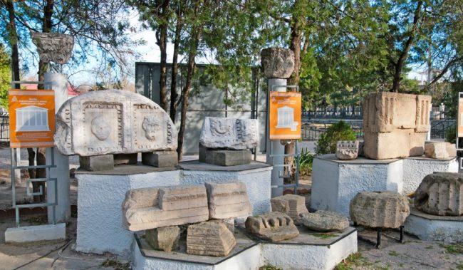 Археологический музей под открытым небом Горгиппия