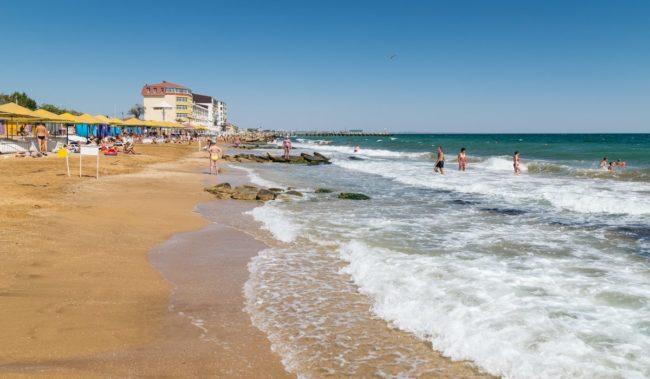 Береговое Крым Пляж Beach Club 117