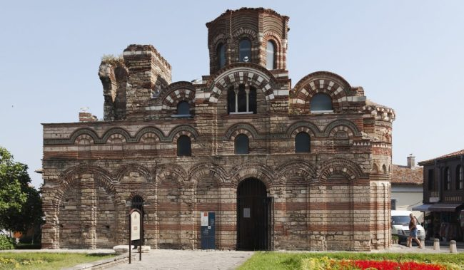 Бургас Несебр Церковь Христа Пантократора