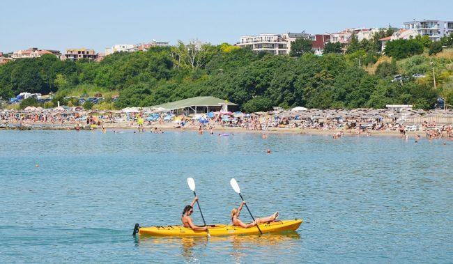 Пляж Сарафово Бургас