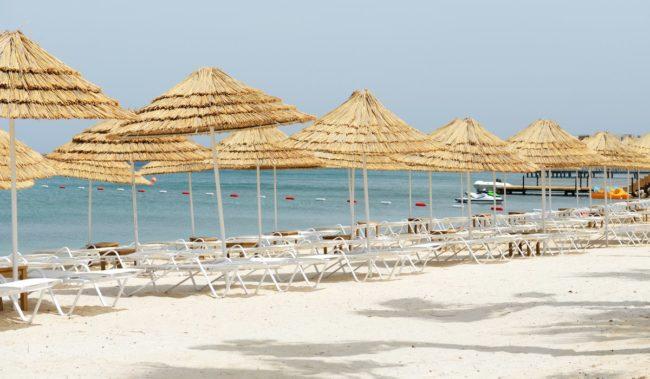 Центральный пляж в Бодруме