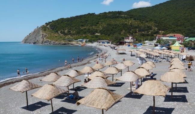 Центральный пляж Дюрсо