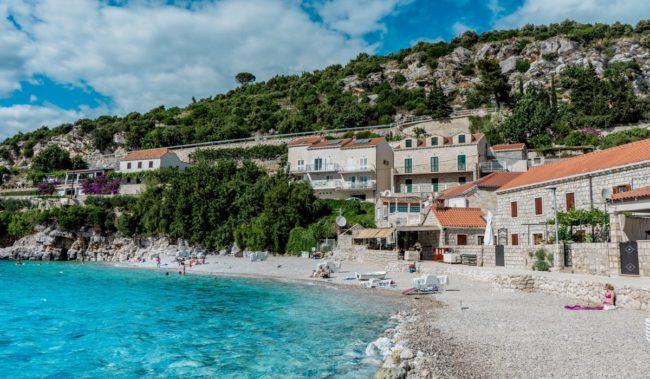 Пляж Св. Якова в Дубровнике