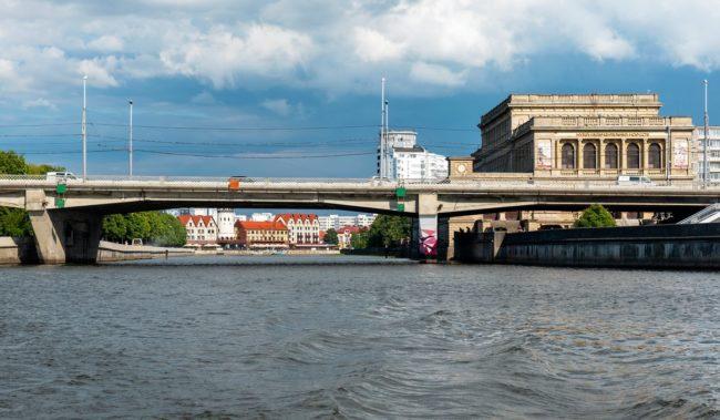 Эстакадный мост в Калининграде