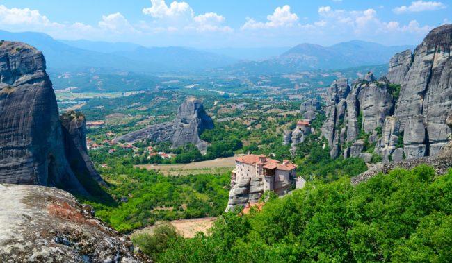 Фессалийская долина и монастыри Метеоры