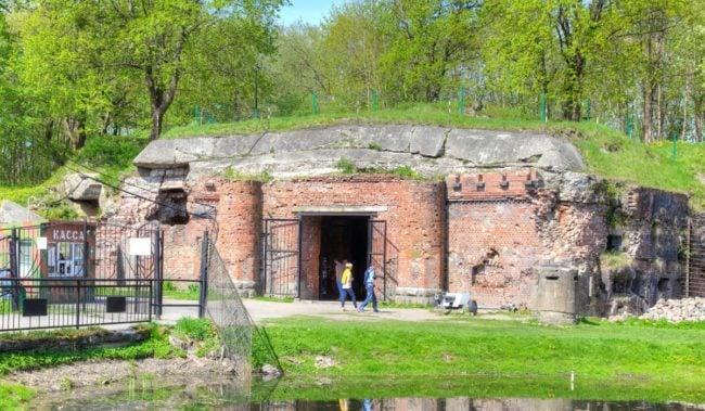 Форт номер 5 в Калининграде