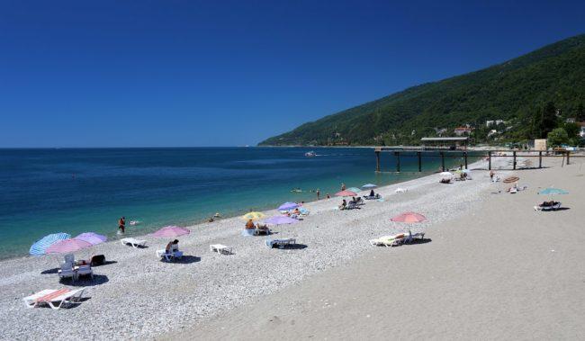 Медицинский пляж в Гагаре