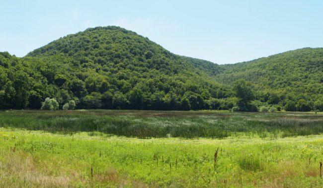 Гора Шахан в заповеднике Утриш
