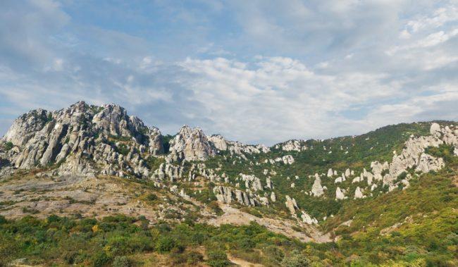 Долина привидений гора Южная Демерджи