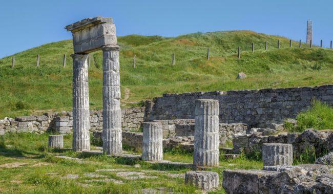 Городище Пантикапей в Керчи