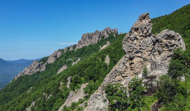 Горы Индюк в Шепси