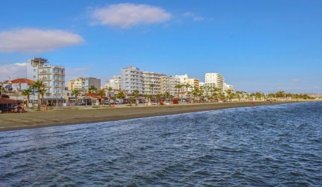 Пляж Ларнаки Финикудес