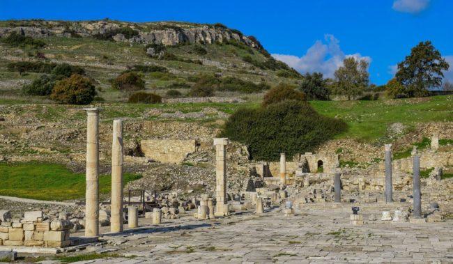 Руины Аматуса в Лимассоле
