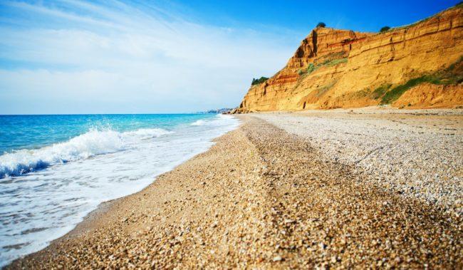 Любимовка, Крым, Гарнизонный пляж