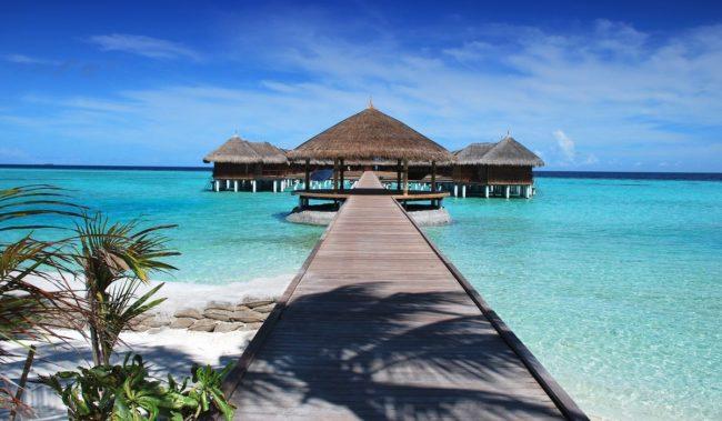 Курорт на Мальдивских островах