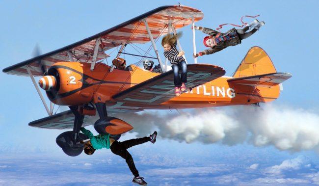 Услуга авиакомпаний несопровождаемые дети