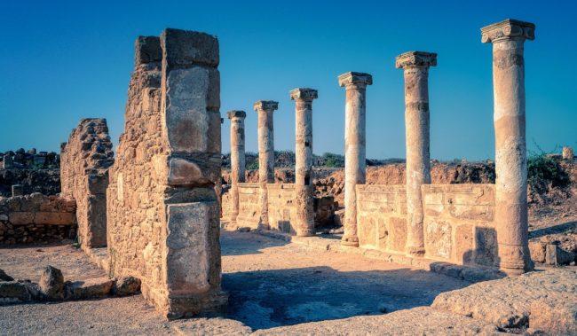 Некрополь Царские гробницы в Пафосе