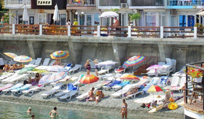 Пляж эллингов в Утеса