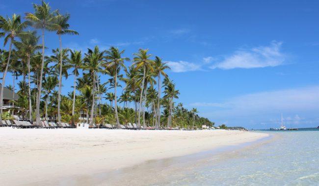 Пляж Плайя Баваро в Пунта-Кане