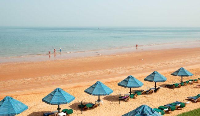 Пляж в Рас-эль-Хайме