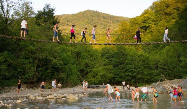 Поездка в долину реки Аше