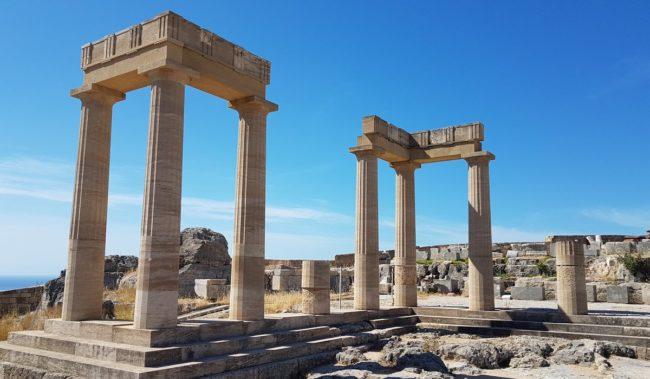 Акрополь Линдоса на Родосе