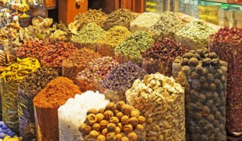 Рынок пряностей и специй в Дубае
