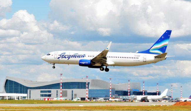 Посадка в аэропорту Симферополя