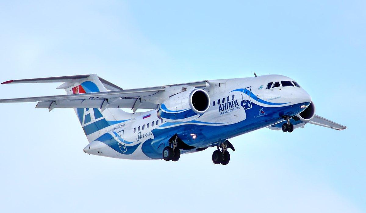 Самолет Ангара АН-148