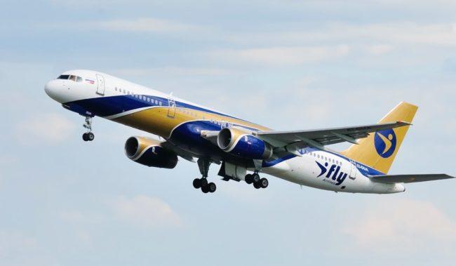 Самолет авиакомпании iFly ABoeing 757-200