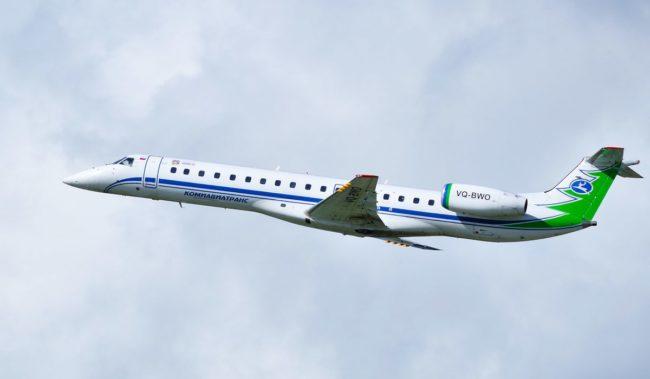 Самолет авиакомпании Комиавиатранс Embraer-145