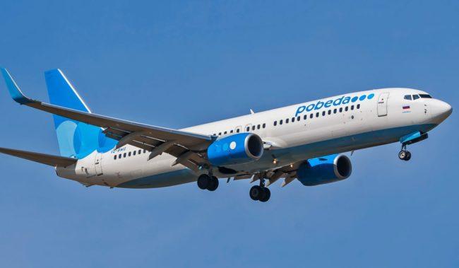 Самолеты авиакомпании Победа Boeing 737-800