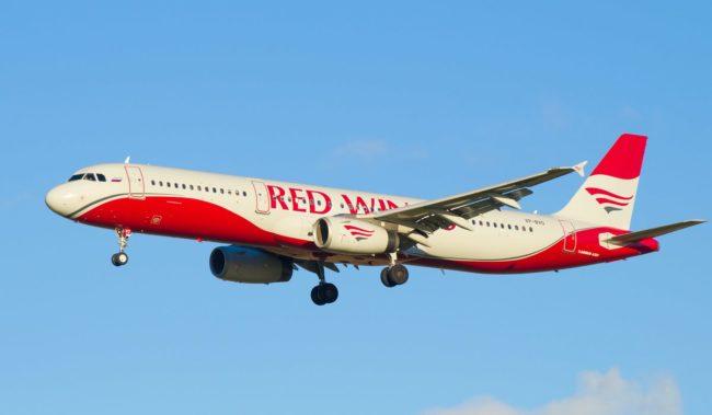 Самолет авиакомпании Red Wings Airbus A321-200