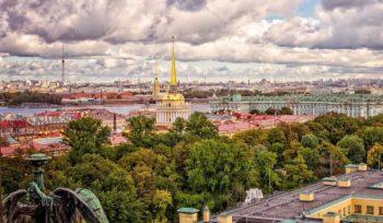 Экскурсионный отдых летом в Санкт-Петербурге