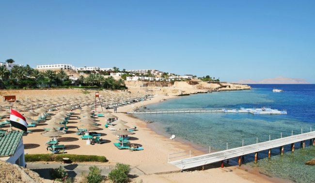 Пляж Корал Бей в Шарм-эль-Шейхе