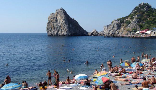 Симеиз Центральный пляж