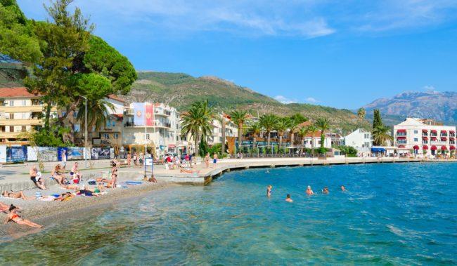Марина Porto Montenegro в Тивате