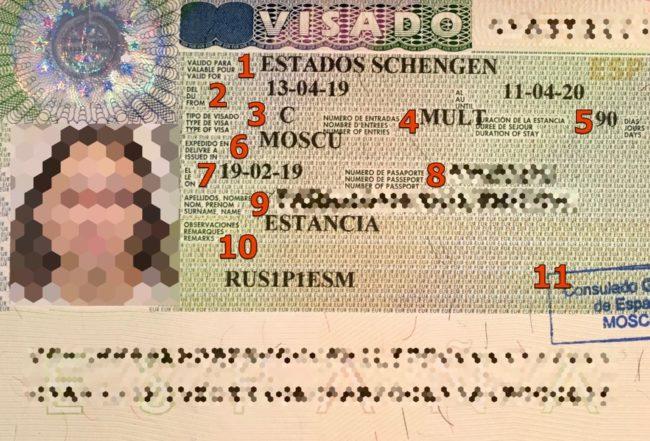 Проверка шенгена