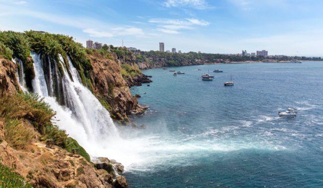 Водопад Дюден в Анталье