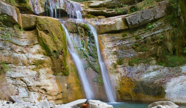 Водопад на реке Пшада