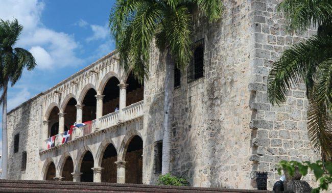 Замок Алькасар-де-Колон в Доминикане
