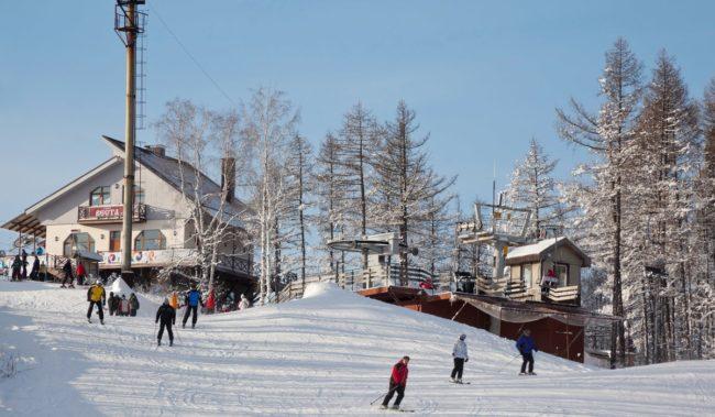 Отдых зимой в Абзаково
