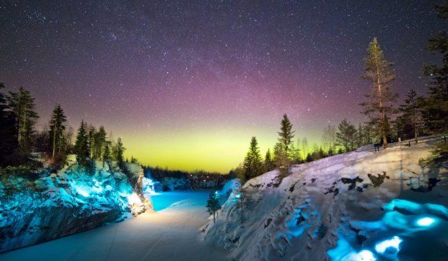 Отдых зимой в Карелии