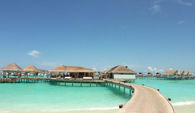 Отдых зимой на Мальдивах